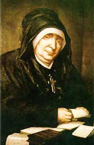Image of Bl. Marie Rivier