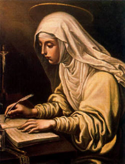 St. Catherine de Ricci: Saint of the Day for Saturday, February 13, 2016
