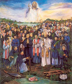 Image of Sts. Peter Tu Van Nguyen and Jose Canh Luong Hoang