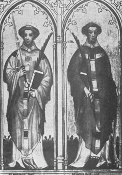 Image of Sts. Ewald the Dark and Ewald the Fair