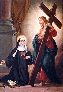 Image of St. Clare of Montefalco