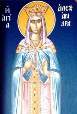 St Alexandra Saints Amp Angels Catholic Online