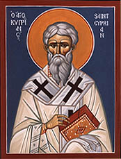 Image of St. Cyprian, Bishop of Carthage