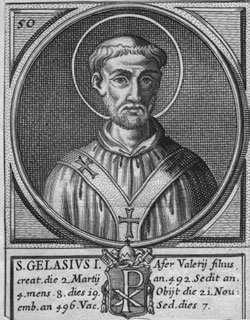 St. Gelasius: Saint of the Day for Wednesday, November 21, 2018