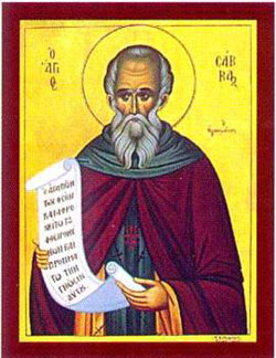 St. Sabas: Saint of the Day for Monday, December 05, 2016