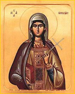 Image of St. Olympias