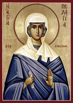 St. Pelagia: Saint of the Day for Thursday, October 08, 2015