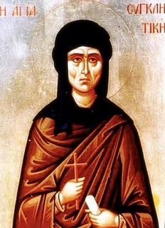 Image of St. Syncletica