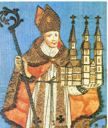 Image of St. Vergil of Salzburg