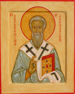 Image of St. Sophronius of Jerusalem