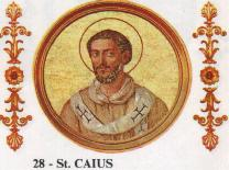 Image of St. Gaius