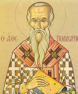 St. Polycarp: Saint of the Day for Thursday, February 23, 2017