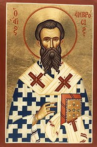 Image result for saint ambrose