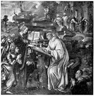 Image of St. Bernard of Clairvaux