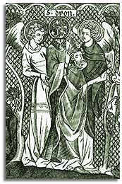 Image of Sts. Denis, Rusticus, and Eleutherius
