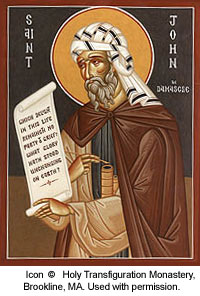 St. John of Damascus: Saint of the Day for Sunday, December 04, 2016