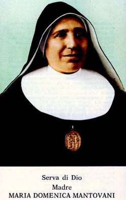 Image of Bl. Maria Domenica Mantovani