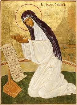 Image of Bl. Maria Gabriella Sagheddu