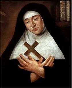 Image of Bl. Marie Guyart of the Incarnation