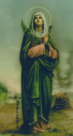 St. Apollonia: Saint of the Day for Tuesday, February 09, 2016