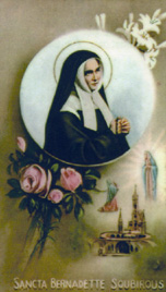 Image of St. Bernadette