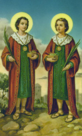 Sts. Cosmas & Damian: Saint of the Day for Monday, September 26, 2016