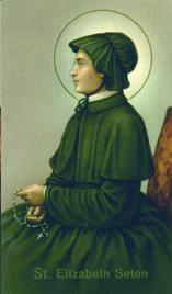 St  Elizabeth Ann Seton - Saints & Angels - Catholic Online