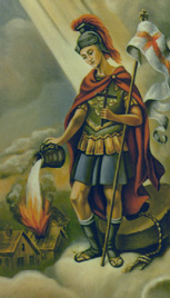 St. Florian: Saint of the Day for Monday, May 04, 2015