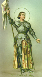 St. Joan of Arc: Saint of the Day for Saturday, May 30, 2015