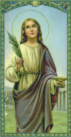 St. Lucy: Saint of the Day for Thursday, December 13, 2018