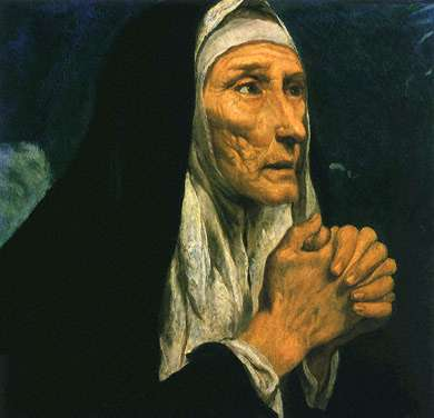 St. Monica: Saint of the Day for Saturday, August 27, 2016