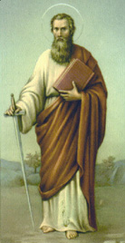 st paul   saints amp angels   catholic online