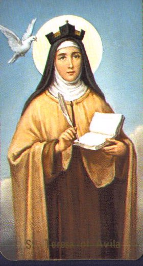 St Teresa Of Avila Saints Angels Catholic Online