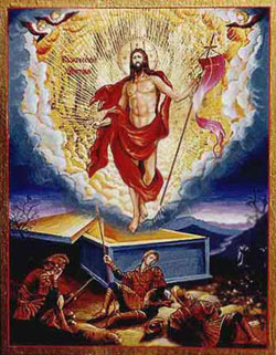 Ascension of Jesus Christ painting