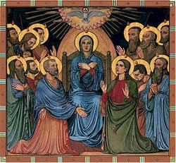 Pentecost painting