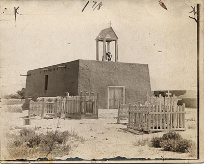 Catholic church in Atrisco, New Mexico