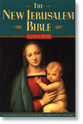 'New Jerusalem Bible' from the web at 'http://www.catholic.org/images/nj_new.jpg'