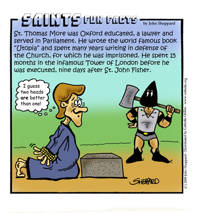 Saints Fun Facts for St. Thomas More