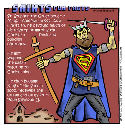 Saints Fun Facts for St. Stephen the Great