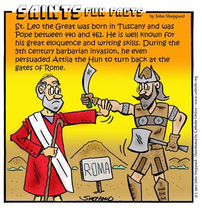 Saints Fun Facts for St. Leo the Great