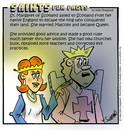 Saints Fun Facts for St. Margaret of Scotland
