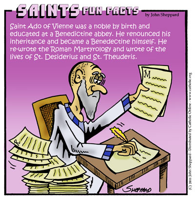 Saints Fun Facts for St. Ado of Vienne