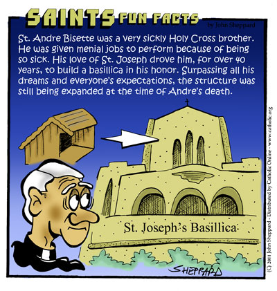 Saints Fun Facts for St. Andre Bessette