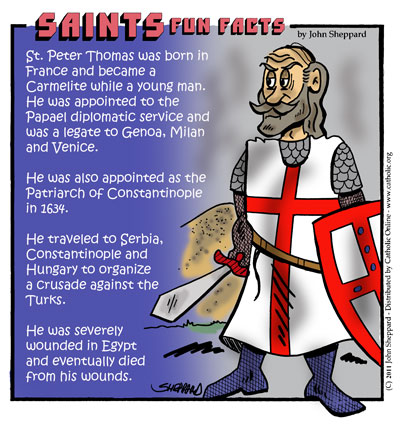 Saints Fun Facts for St. Peter Thomas