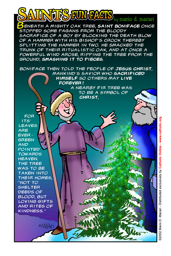 Saints Fun Facts for St. Boniface