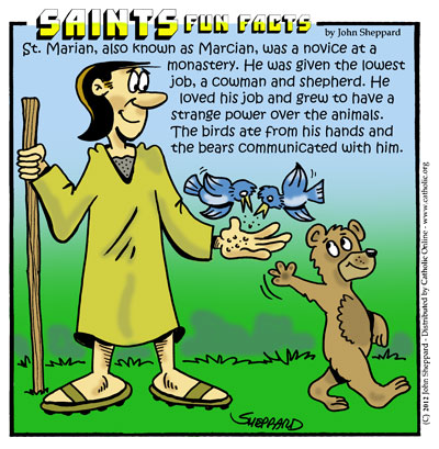 Saints Fun Facts for St. Marian