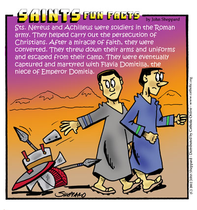 Sts. Nereus & Achilleus Fun Fact