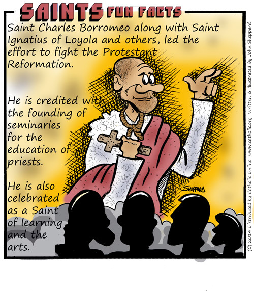 Saints Fun Facts for St. Charles Borromeo
