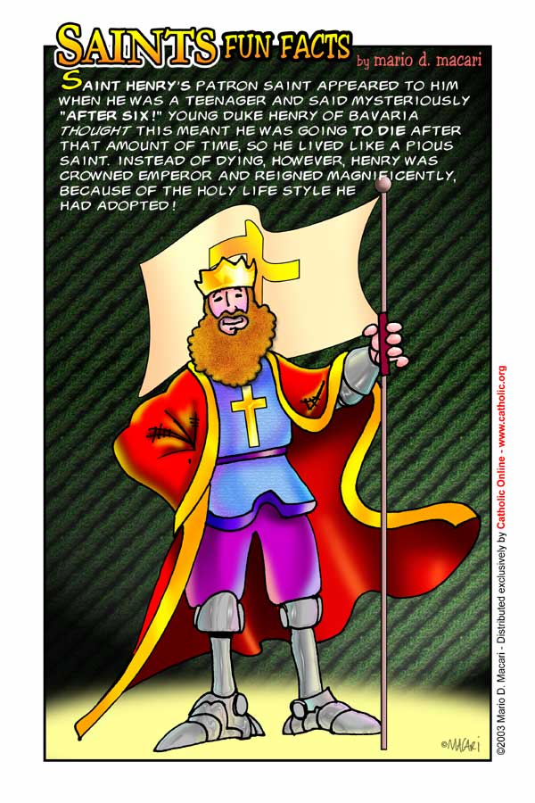 St. Henry Fun Fact Image