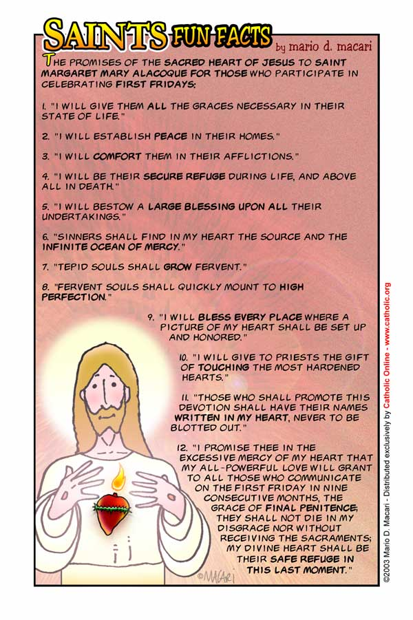 St. Margaret Mary Alacoque Fun Fact Image